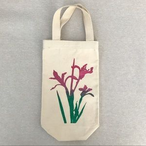 Lily Flower Canvas Tote & Gift Bag